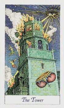 La Torre del Tarot, una de las representaciones de este tiempo