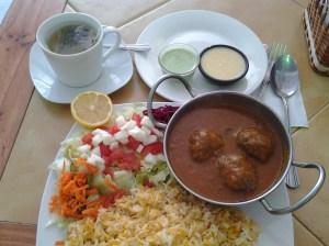 Mi almuerzo en el Karachi Spice