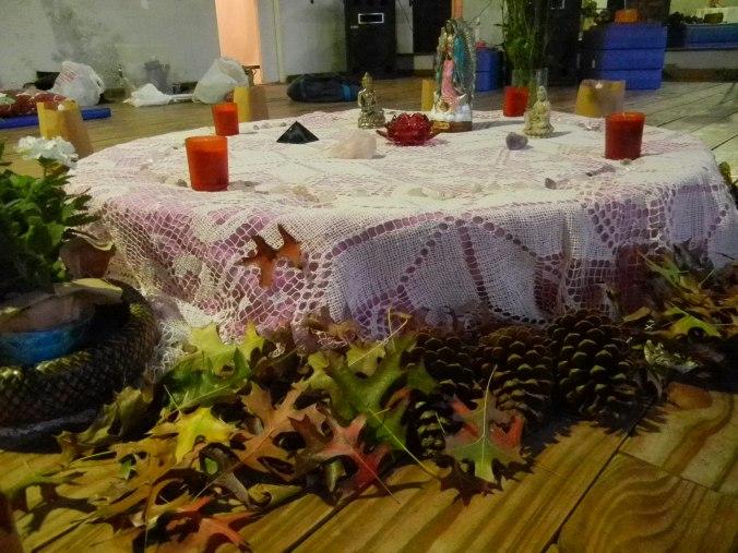 Altar-Mandala Otoño