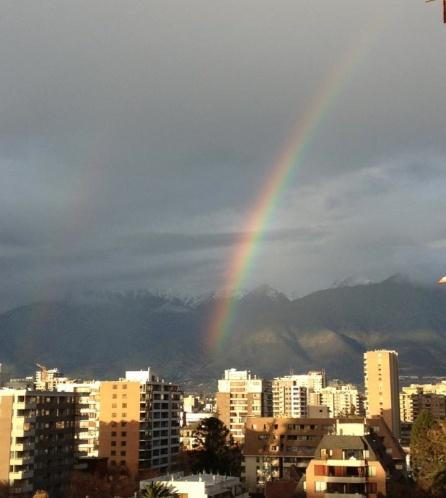 arcoiris en santiago23junio