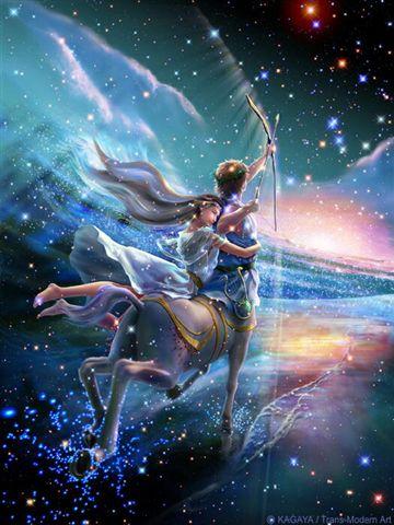 Sagitario, el centauro que con su arco eleva sus objetivos para ir más allá...