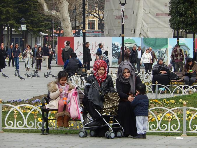 Plaza de la Mezquita Azul, Estambul
