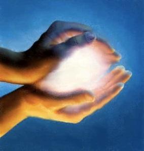 manos de luz