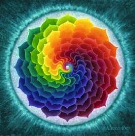 mandala loto arcoiris