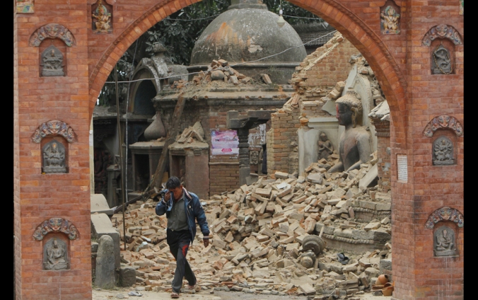 Terremoto en Nepal (foto: Agencias, AP)