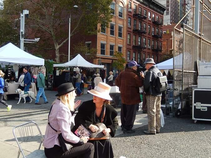 Un sábado en el mercado de pulgas Hell's Kitchen