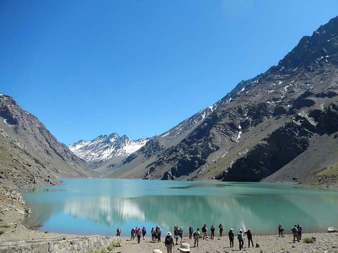 Laguna del Inca. Portillo. Chile