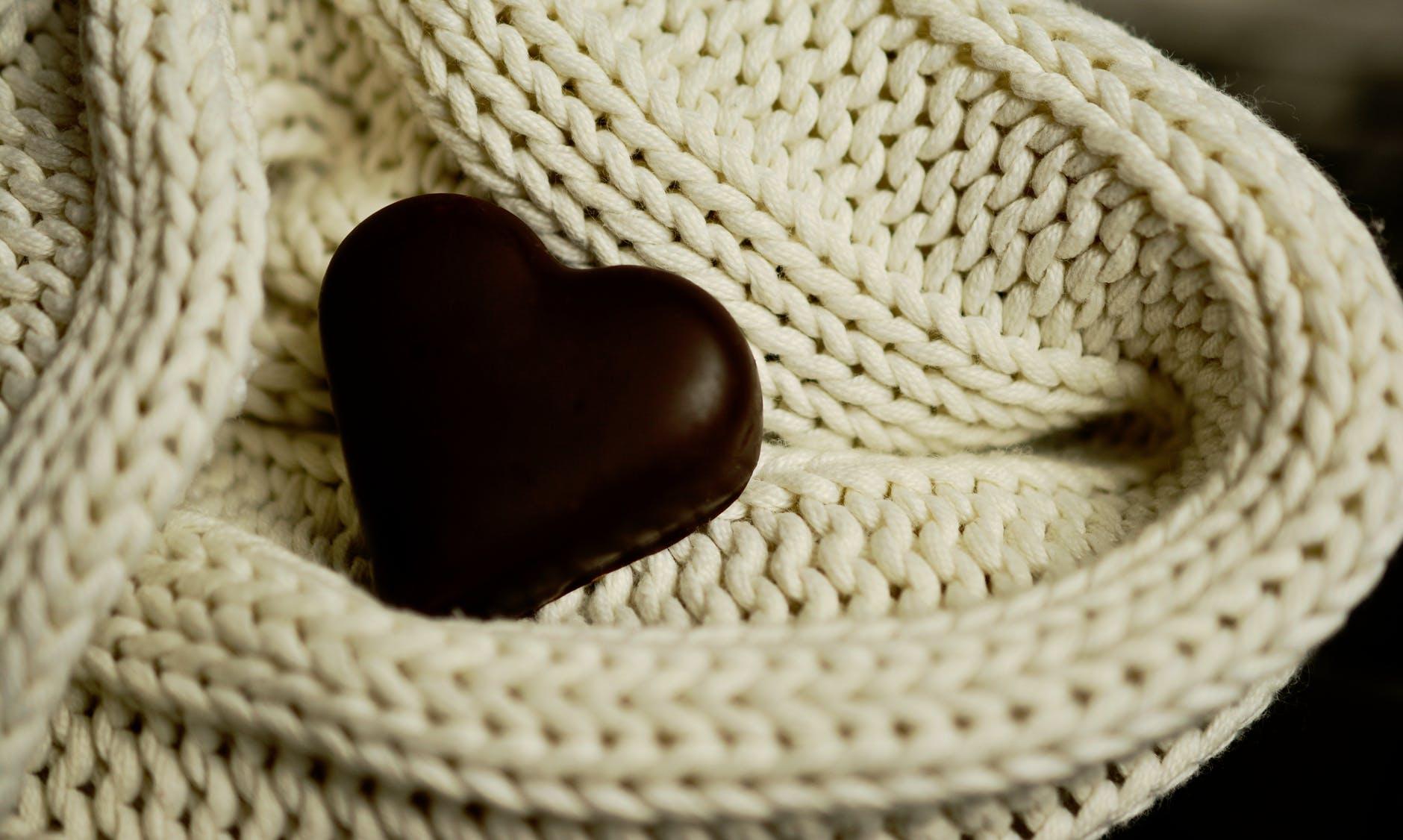 chocolate dessert fabric food